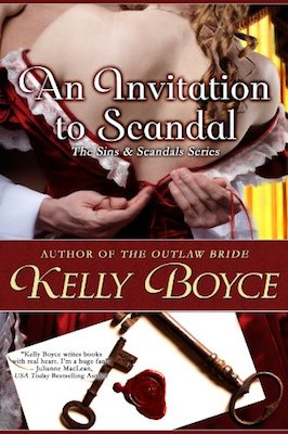 An Invitation to Scandal by Kelly Boyce