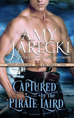 Captured by the Pirate Laird by Amy Jarecki