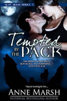Tempted By the Pack by Anne Marsh