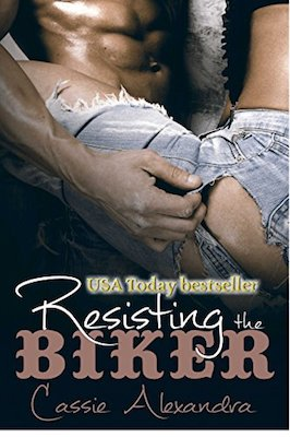 Resisting The Biker by Cassie Alexandra
