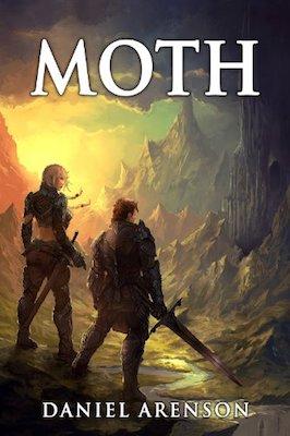 Moth by Daniel Arenson