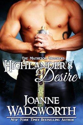 Highlander's Desire by Joanne Wadsworth