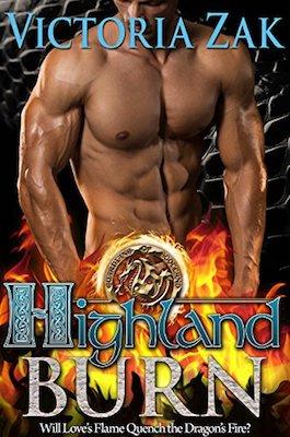 Highland Burn by Victoria Zak